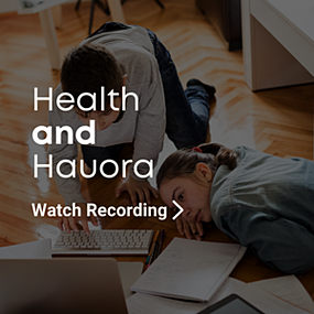 Healthier Home Learning - Health & Hauora Webinar Recording