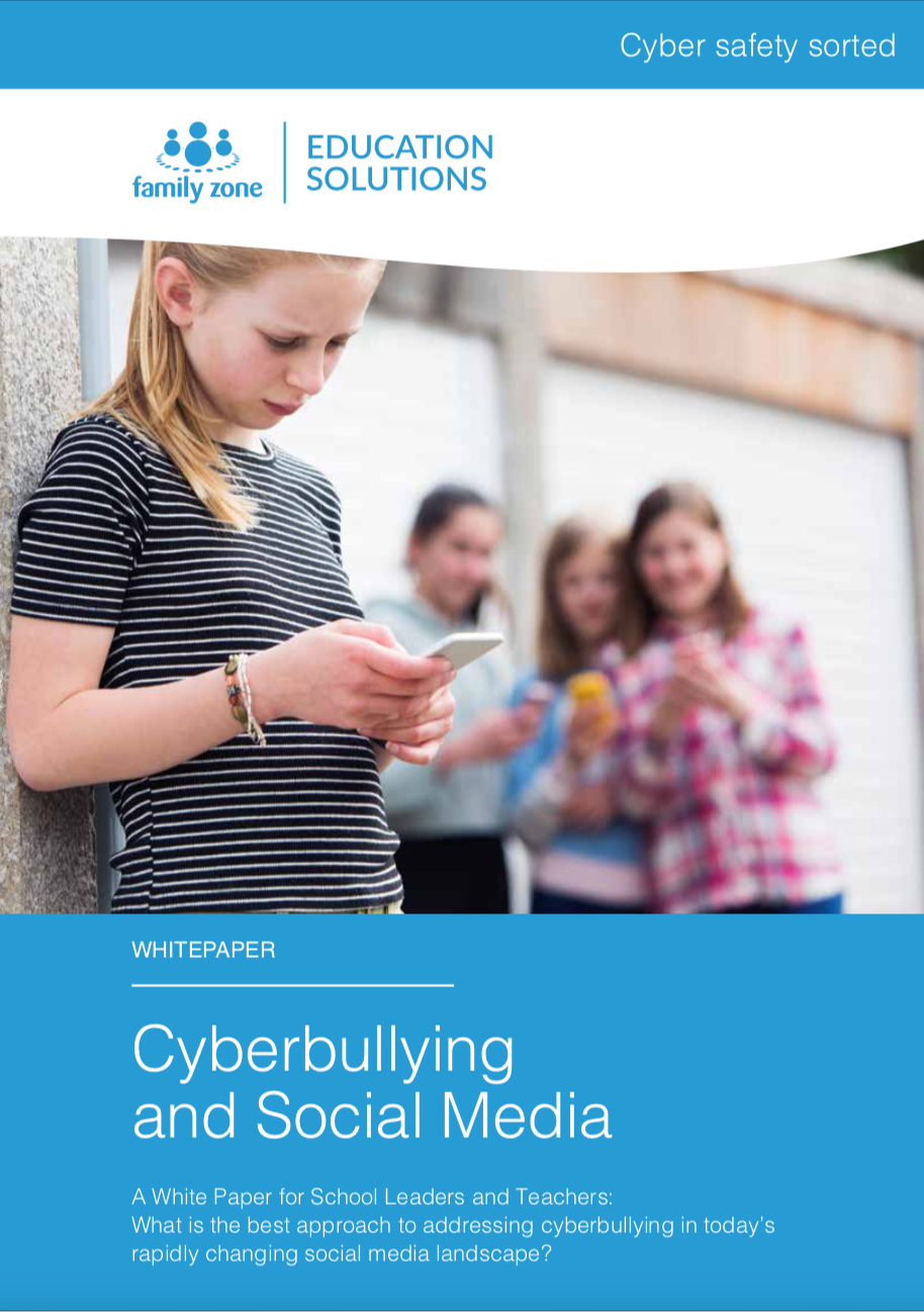 Cover - Family Zone - Cyberbullying and Social Media
