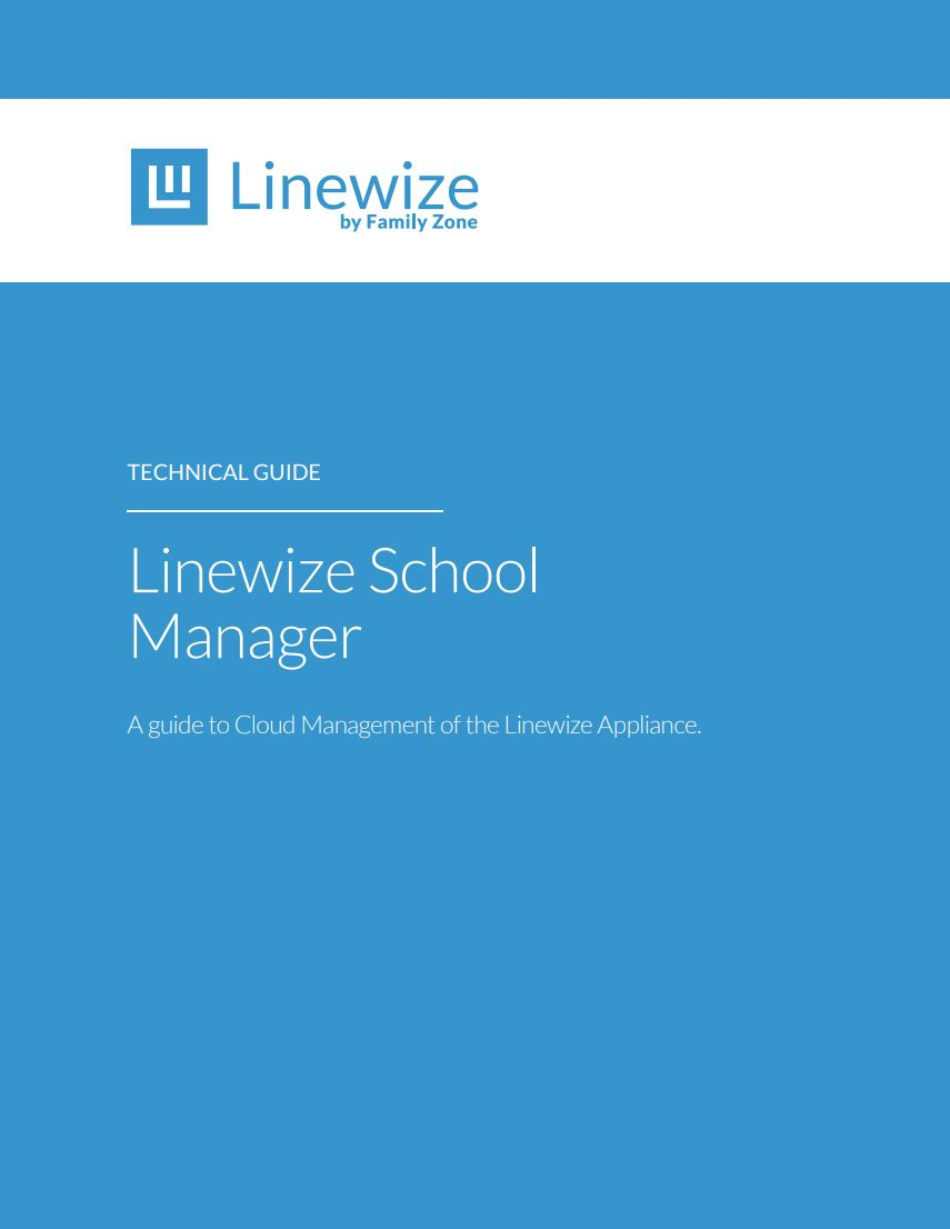 Cover Linewize School Manager