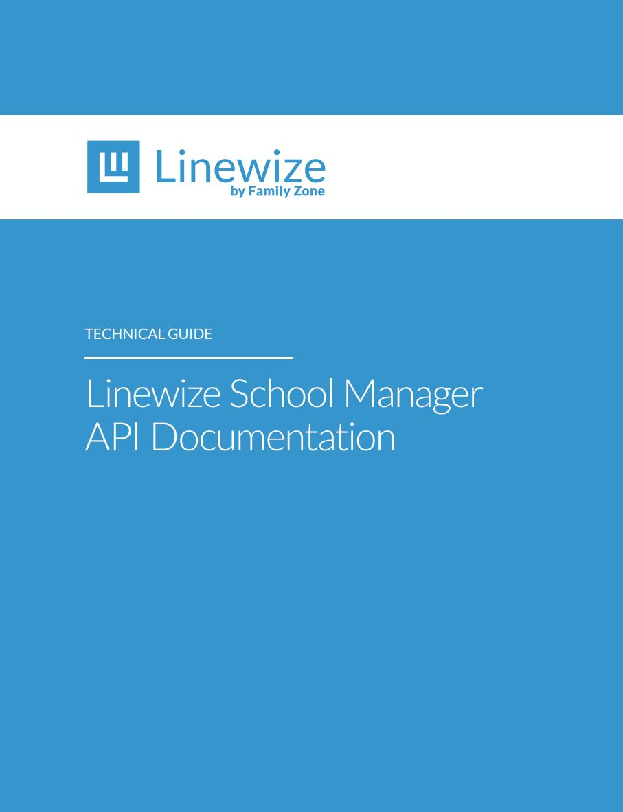 Cover school manager API