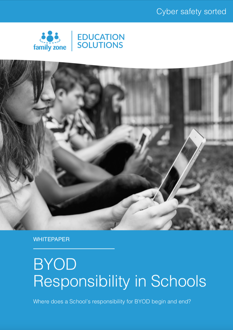 Cover - Family Zone - BYOD Responsibility in Schools