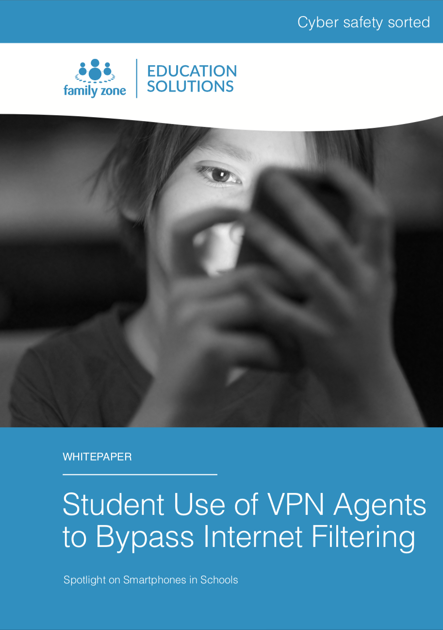 Cover - Family Zone - Student use of VPN